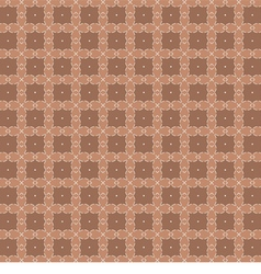 White Vintage Graphic On Brown Background vector image vector image