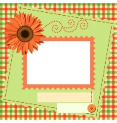 photo framework vector image vector image