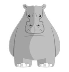 Hippoptamus vector image