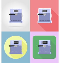 Household appliances for kitchen 04 vector