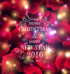 New Years color shining background with a vector image