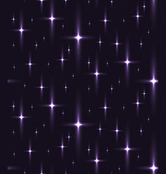 seamless texture of the night sky with stars vector image
