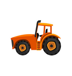 tractor agricultural machinery farm equipment vector image