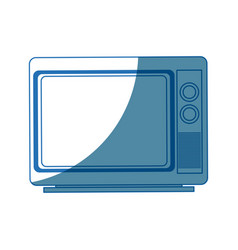 Tv screen broadcast classic appliance vector