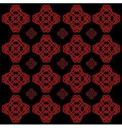 vector illustration of celtic knot motif vector image