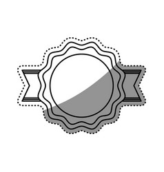 empty stamp label vector image vector image