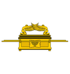 Ark of the covenant vector