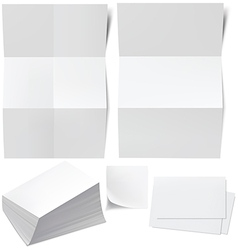 blanks b cards vector image