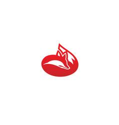 Creative fox logo vector
