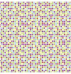 seamless pattern - polka dots vector image vector image