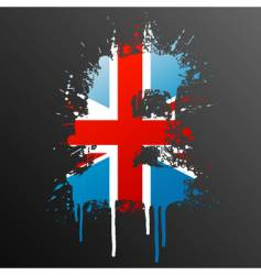 English pound grunge vector image vector image