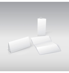 Template blank paper in For your presentation and vector image