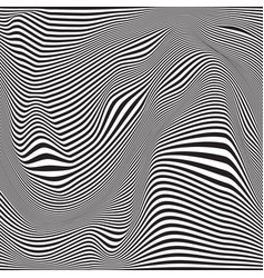 Abstract seamless ripple pattern repeating vector