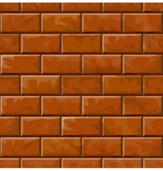 Background of brick wall texture vector image