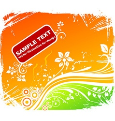 Faded Summer Background vector