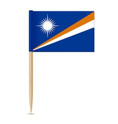 Flag of the marshall islands swedish flag vector
