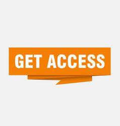 Get access vector