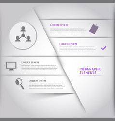Infographics elements eps10 vector