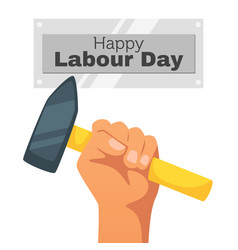 Labour day design template vector