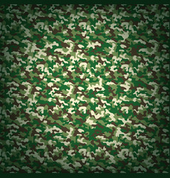 Military green camouflage background vector