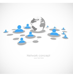 Network background vector