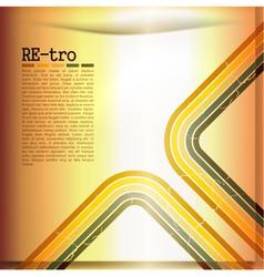 retro set vector image