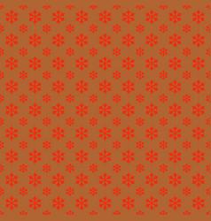 Seamless geometric snowflake pattern wallpaper - vector