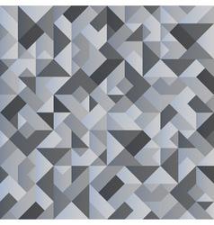 Monochrome geometric background vector image vector image