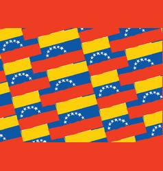 abstract venezuela flag or banner vector image
