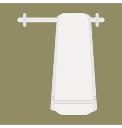 Clean towel vector image