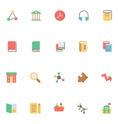 Education Colored Icons 6 vector