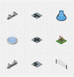 Isometric architecture set of seesaw intersection vector