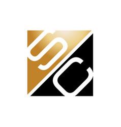 letter sc vector image