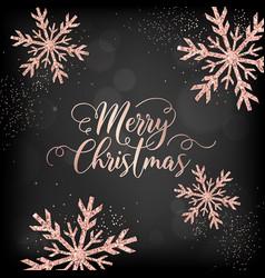 Merry christmas card invitation greetings 2019 vector