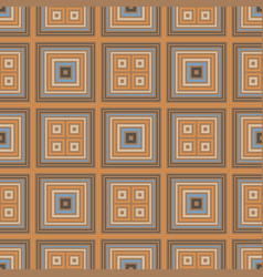 vibrant squares seamless pattern vector image