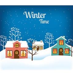 Winter design vector