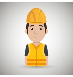 worker protection tools icon vector image