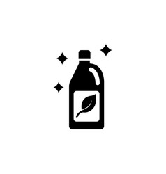 cleaning agent flat icon vector image