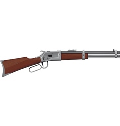 Lever Rifle vector image vector image