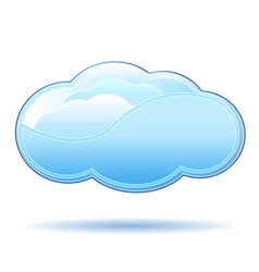 clouds icon design vector image