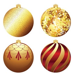 Decorative Xmas Balls vector