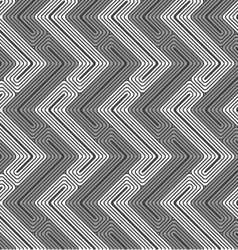 Shades of gray z shapes light and dark vector