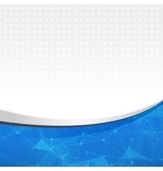 Abstract blue light template background Abstract vector image vector image