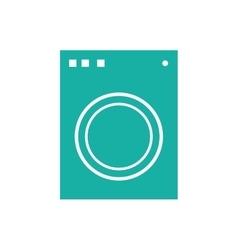 Washer laundry machine vector