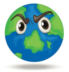 Angry Earth vector