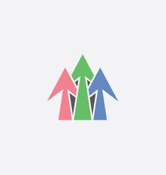arrows sign symbol design element vector image