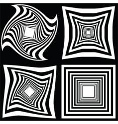 Monotone retro backgrounds vector