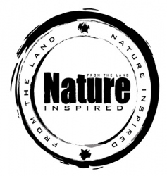 nature stamp vector image