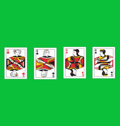 queens set vector image