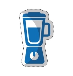 Blender appliance isolated icon vector